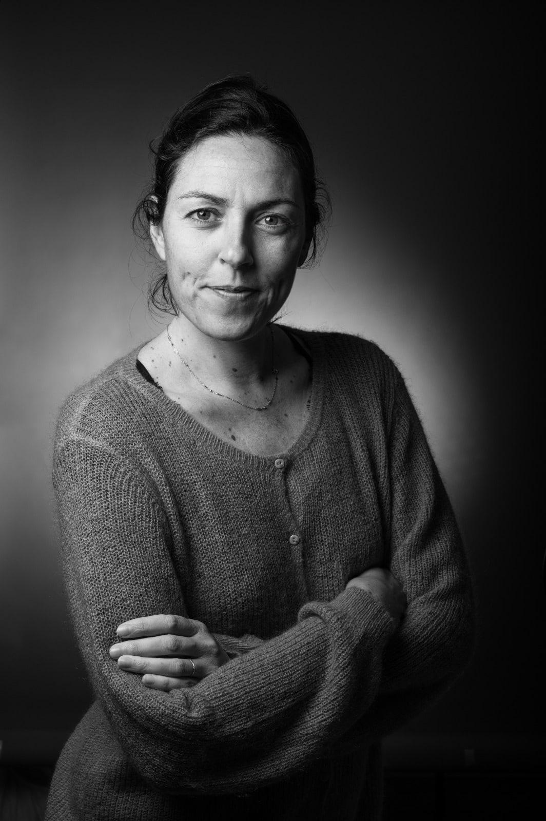 portrait de Mathilde Badinier photographe à Angers