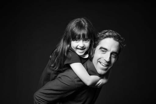 Portrait père et fille
